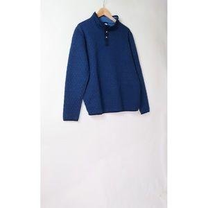 Marine Layer corbet reversible pullover L